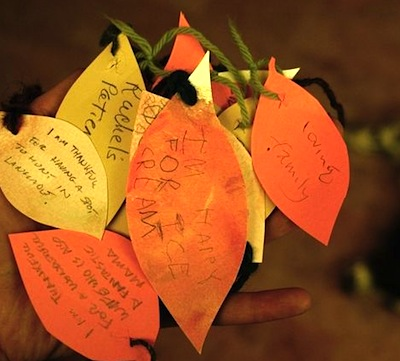 gratitude tree diy for thanksgiving