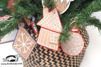 easy cardboard ornaments