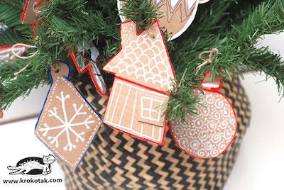 easy cardboard ornaments