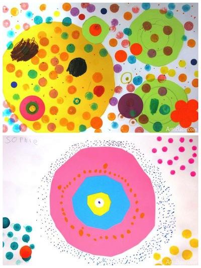 Art Is Basic dot artwork