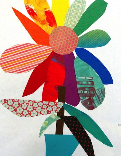 Color Wheel Collage Flower Things To Make And Do Crafts And