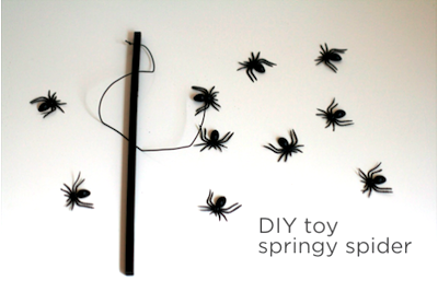 springy spider toy