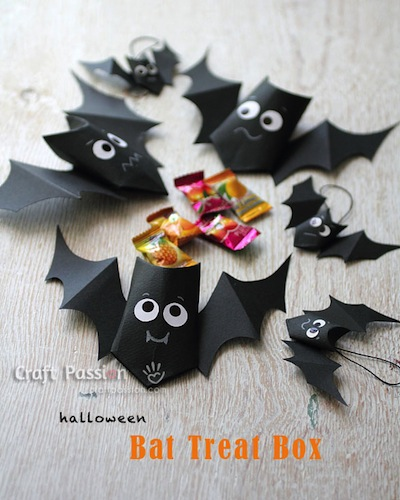 bat treat boxes DIY