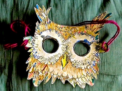 owl mask printable