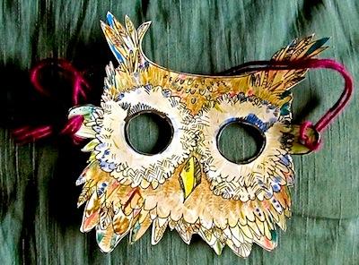owl mask printable