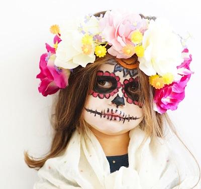 Dia de Los Muertos makeup video