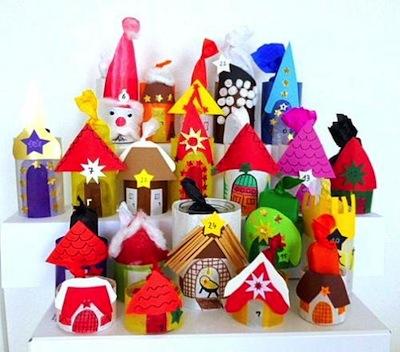 jar lantern advent calendar craft for kids