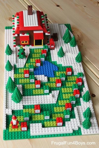 Lego Countdown Advent Calendar To Make