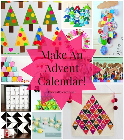 The Crafty Crow 2014 favorite advent calendars to make