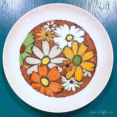 Bella Dia vintage plate inspiration