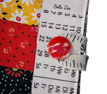 Bella Dia quilted list taker detail