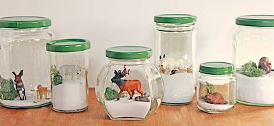 winter terrariums kids can make