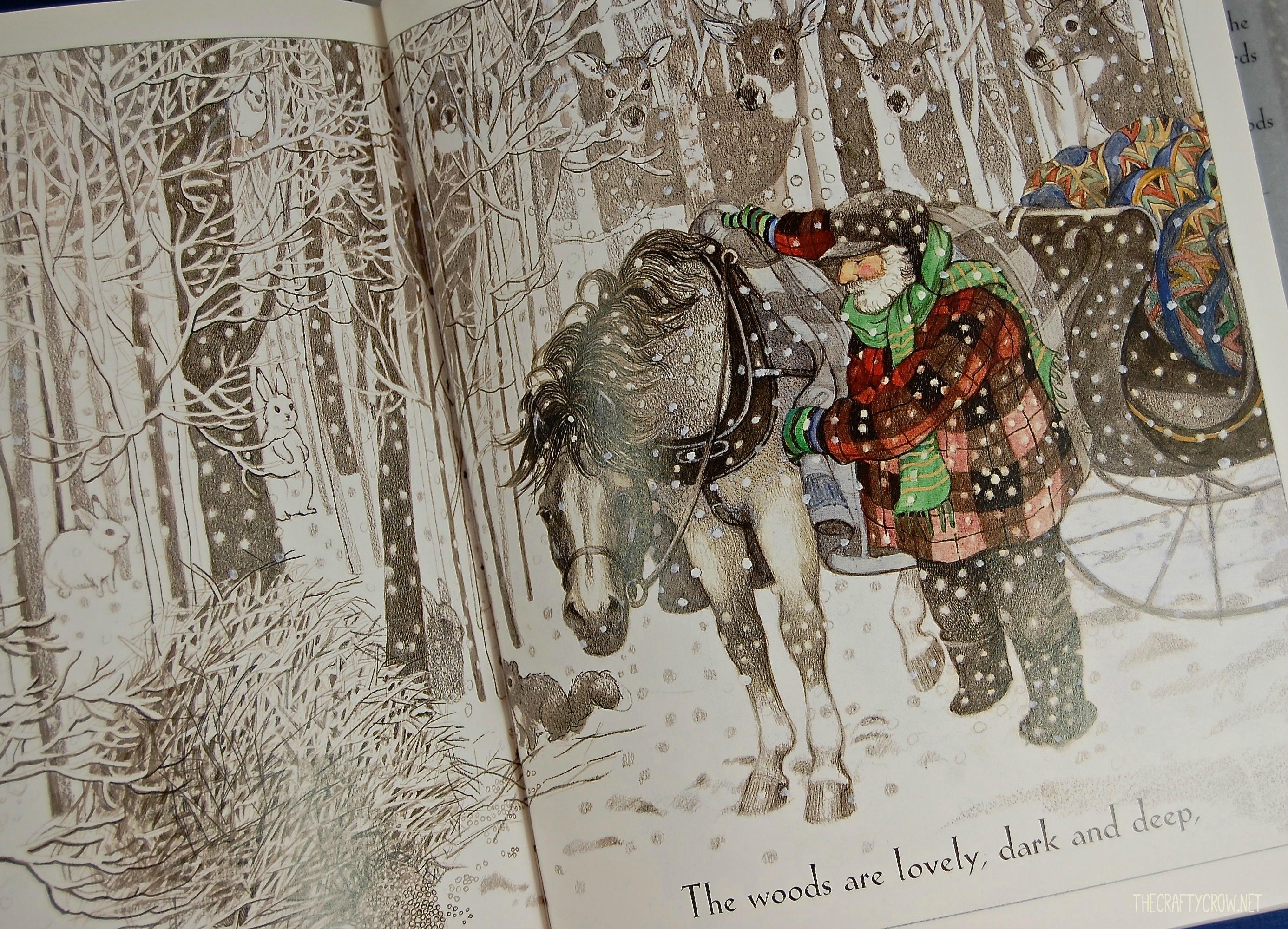 snowy woods poem