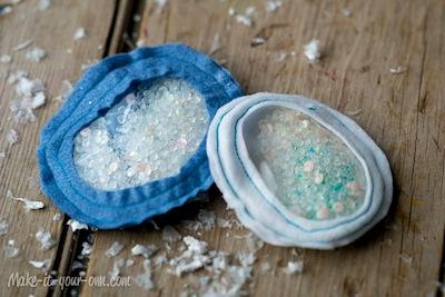 how to make snowball bean bags