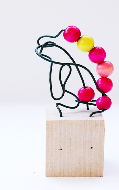 Babble Dabble Do wire sculpture and bead craft