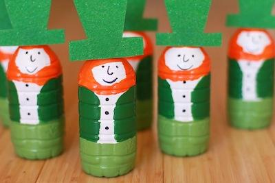 leprechaun bowling pins