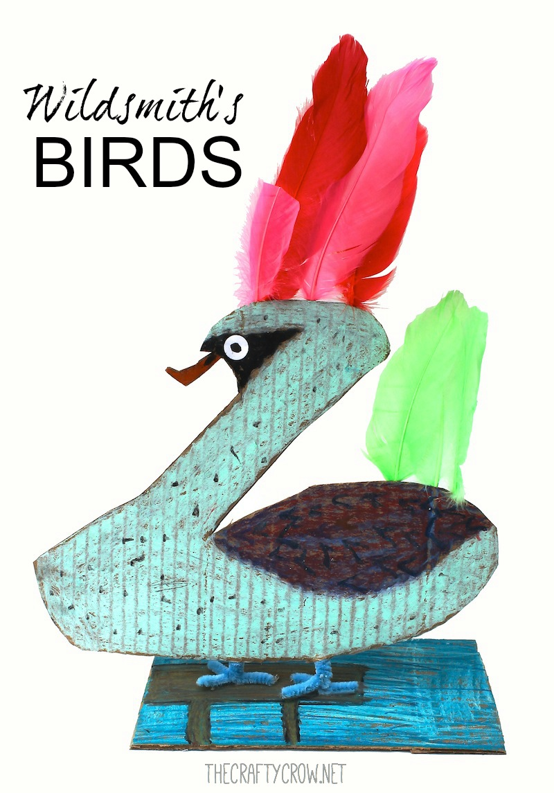 The Crafty Crow Brian Wildsmith's Birds art lesson for kids