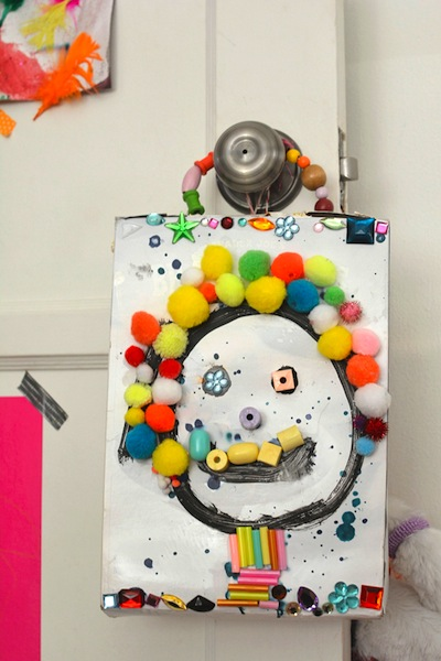 cereal box art project for kids