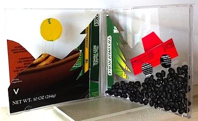 CD case diorama art project