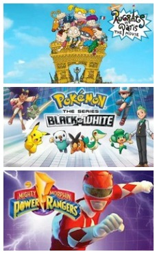 Rugrats Pokemon Power Rangers on Netflix Streaming