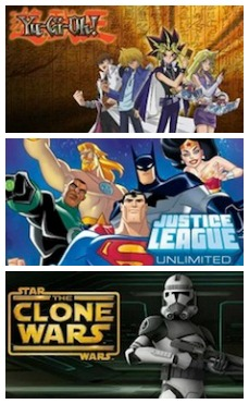 YuGiOh Justice League Clone Wars on Netflix Streaming