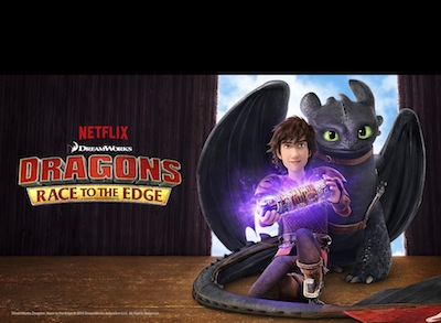Dragons Race to The Edge Netflix Streaming
