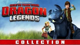 How To Train Your Dragon Legends Collection Netflix Streaming