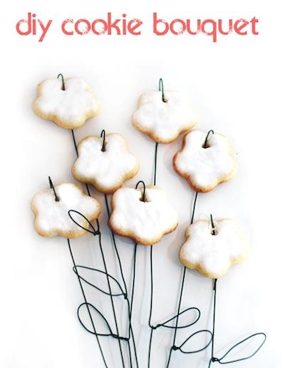 cookie flower bouquet