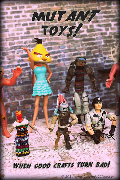 mutant toy craft for kids