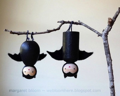bat peg doll DIY