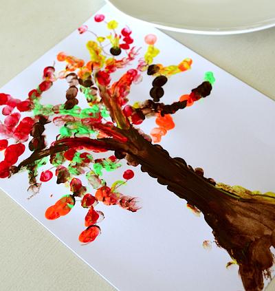fingerprint fall tree