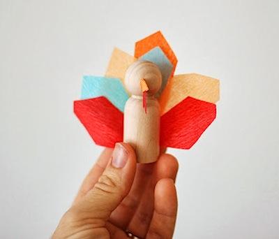 a mini turkey craft