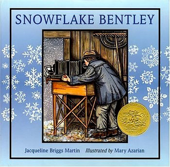 The Crafty Crow Snowflake Bentley book and activity advent for kids