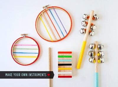 diy wood instruments