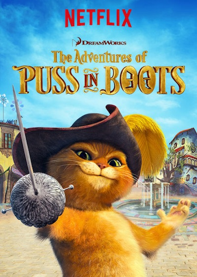 Netflix The Adventures of Puss in Boots