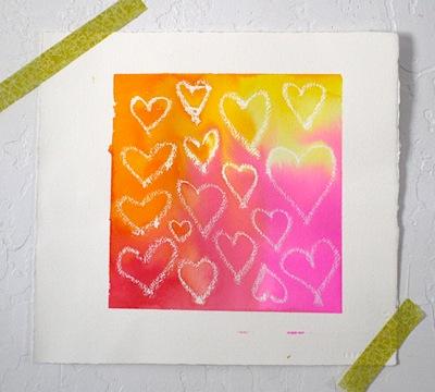 irresistible Valentine art