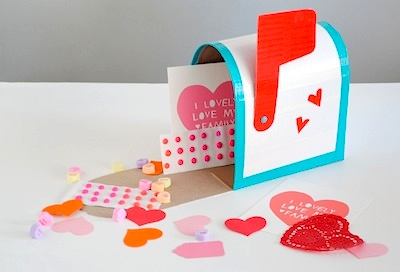 Valentine Mail Box Diy Things To Make And Do Crafts Activities For Kids The Crafty Crow