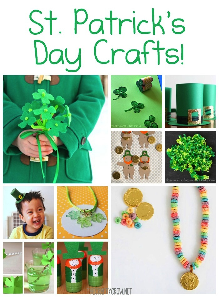 The Crafty Crow St. Patrick's Day crafts