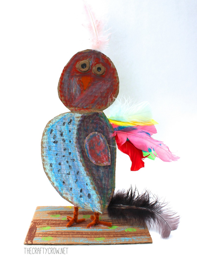 The Crafty Crow Brian Wildsmith Birds owl art lesson 9yo