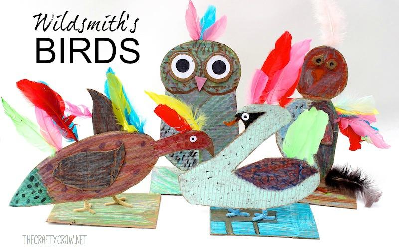 The Crafty Crow Brian Wildsmith's Birds art lesson