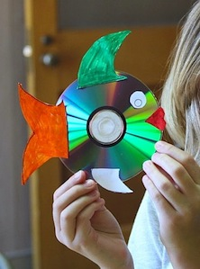 CD fish craft for kids