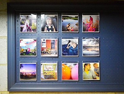 CD cases as picture frames for Instagram photos