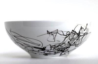 DIY toddler art dishware gift