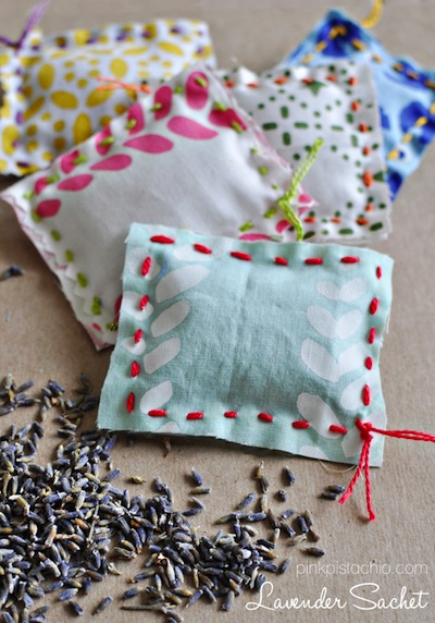 spring sachets kids can make