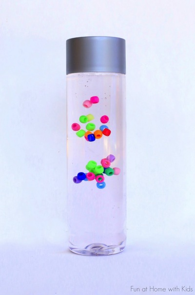 suspended bead discovery bottle things to make and do