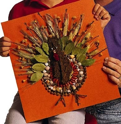 Nature Craft Turkey Things To Make And Do Crafts And Activities