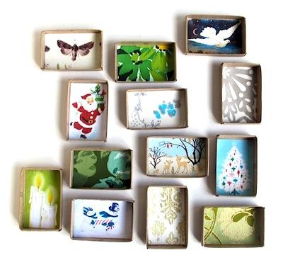 little advent boxes