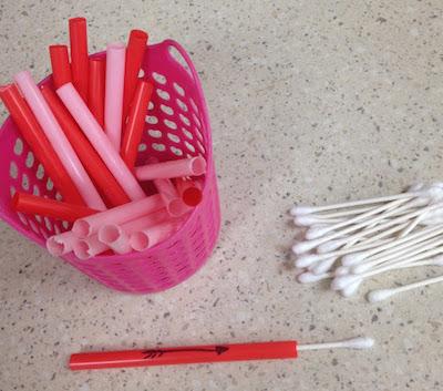 Pre-K Tweets cupid's target practice Valentine's Day party game