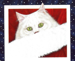 Santa's Snow Cat by Sue Stainton