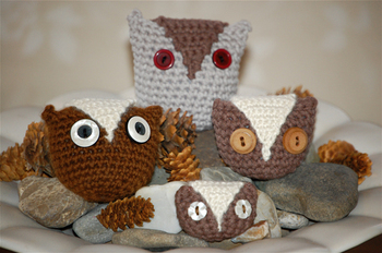 4 little owls